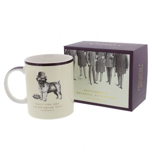 Gentleman's Drinking Mug in Gift Box- Can't You See I'm Drinking Tea?